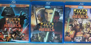 Star Wars Rebels Season 2, 3 and 4 BluRay