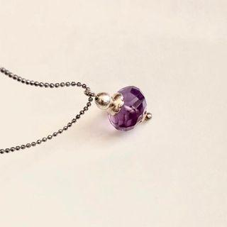 """UNSIGNED BEAUTIFUL GENUINE AMETHYTS IN LAVENDER SHADE