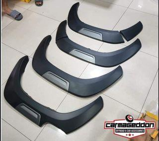 2021 toyota hilux conquest style fender flare Available Color  Gray and RED
