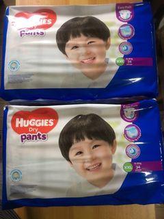 68pcs/box Huggies Dry Pants XXL Diaper