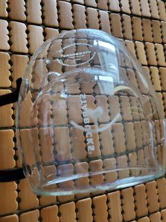 星巴克貓咪雙層玻璃杯