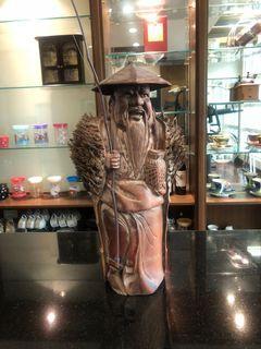姜太公木雕