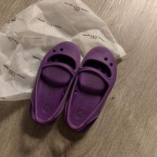 女孩 海灘鞋 涼鞋 防水 玩水 Crocs #7