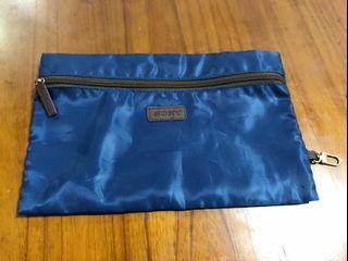 二手 SONY 日本 索尼 藍色 收納袋