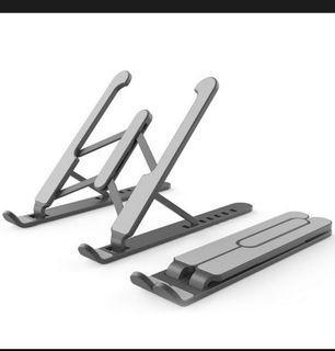 Adjustable laptop riser , laptop stand