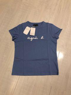 agnes b. 女款純棉短袖T恤