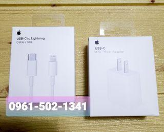 Apple Charger 20Watts set with USB C Cable ORIGINAL FAST CHARGER BRAND NEW