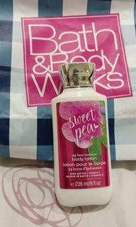 Bath and body work body lotion