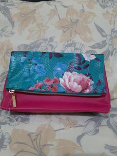 Bath and body works flower clutch new with tag