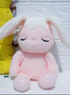 Boneka kelinci bobo pink