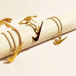 Brand New 18K Gold Plated Nike Chain