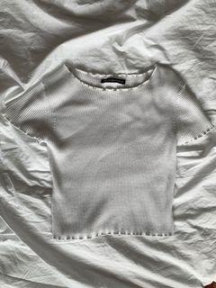 Brandy melville white t-shirt