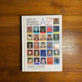 Buku A to Z GREAT MODERN WRITERS - Andy Tuohy