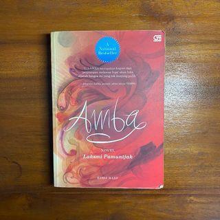 Buku AMBA - Laksmi Pamuntjak