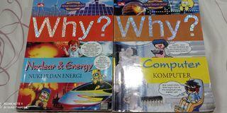 Buku Why bekas