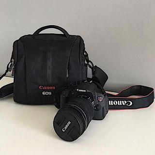 Canon T5i with 18-135mm Lens & Camera Bag