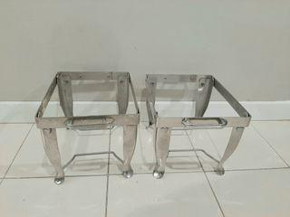 Catering Chafing Dish Stand 12 inch x 10 inch