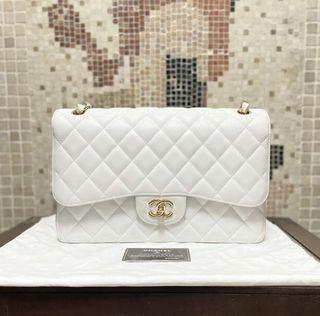 Chanel classic flap jumbo荔枝皮