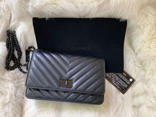 香奈兒Chanel so black reissue woc 限量全黑小包