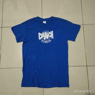 Crunch Fitness No Judgements Gym Original Gildan Tshirt Kaos Tees Tee Baju Polos