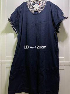 DRESS BIG SIZE LD 120cm