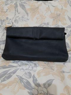 Et cetera black clutch new with tag