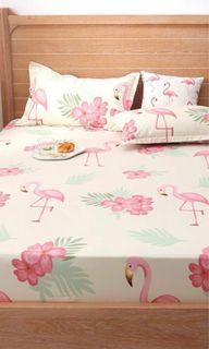 Flamingo Queen Bedsheet