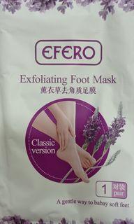 Foot mask peeling