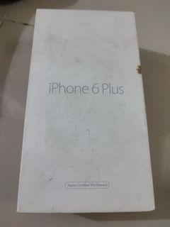 For sale iphone 6 plus box only