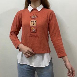 Graphic Sweater Sweatshirt Pullover Corduroy