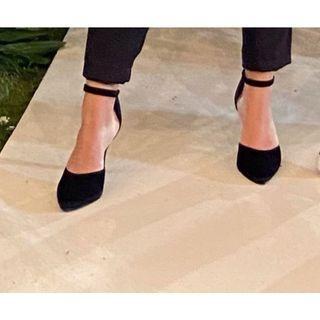 High Heels Black Suede
