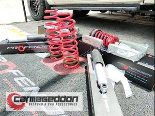 Installed on a 2021 Nissan Navara PROFENDER QUEEN SERIES - BEST SUSPENSION AVAILABLE IN THE MARKET