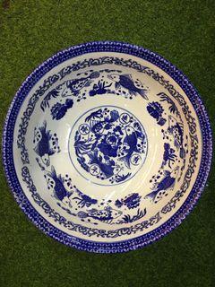 KOM  Biru putih diameter 35cm
