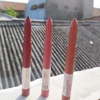 Lipstick Maybelline Crayon