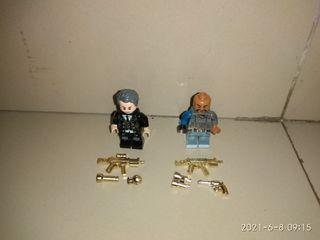 Mainan lego gold gun murah