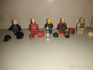 Mainan lego paket tentara