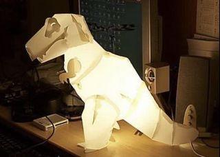 Ming Light DIY 侏羅紀 暴龍 恐龍 燈 dinosaur lamp