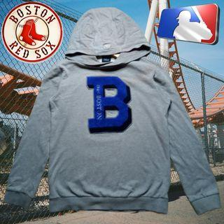 MLB BOSTON RED SOX 1948 GRAY PULLOVER HOODIE ORIGINAL AUTHENTIC