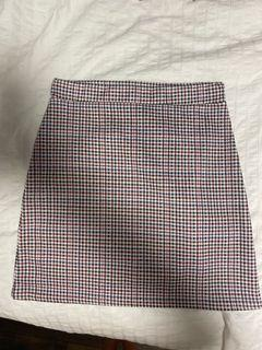 NWT Pretty little thing plaid mini skirt