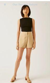 OSN Boat Neck Knit Top