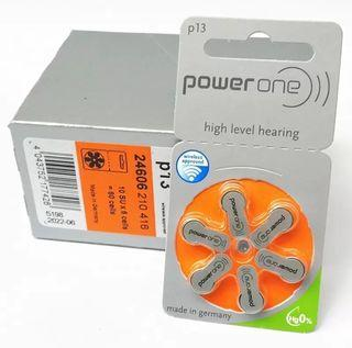 德國p13助聽器電池高級聽力專用       Power One high level hearing batteries