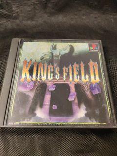 💖PS1💖原裝正版KING'S FIELD 經典最早期立體第一身戰鬥,極為罕有市面失傳,市面已絕跡停產,值得玩樂紀念回憶🎉🎉💖雙雙點擊內容有遊戲介紹💖💖 PLAYSTATION 1