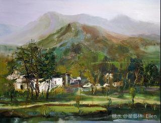Oil painting - Riversouth Impression #3