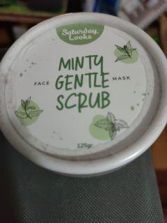 Saturday Looks Minty Gentle Scrub 125g