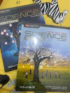 Science matter lower secondary 2nd edition volume A dan B