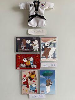 Selling this brand new We Bare Bear design Ezlink card.  😊