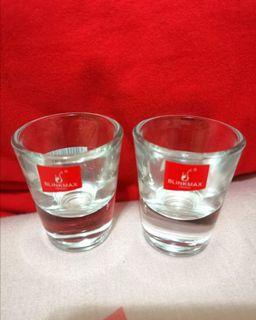2 pcs Blink max shooter glasses/ 2隻烈酒玻璃杯