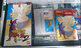 Nintendo Super Famicom Dragonball Z Butoden 2 SFC Game