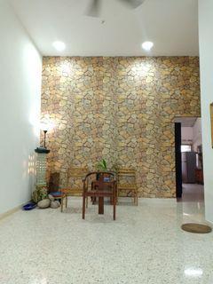 Taman Perling / Jalan Camar / 1 Sty Terrace House / Basic Renovated