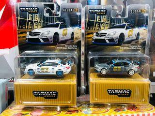 Tarmac Works 1:64 Mercedes-Benz C63 AMG Coupe Black Series #63 (2016 Gumball 3000) 一對 連 隱藏 CHASE CAR